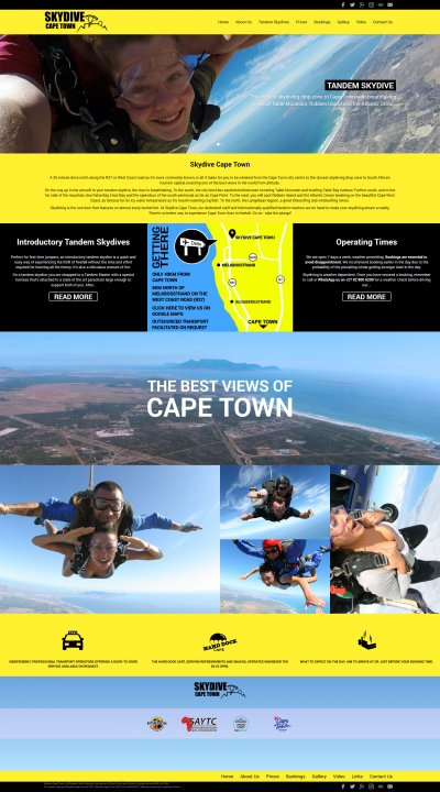 Skydive Cape Town Screenshot